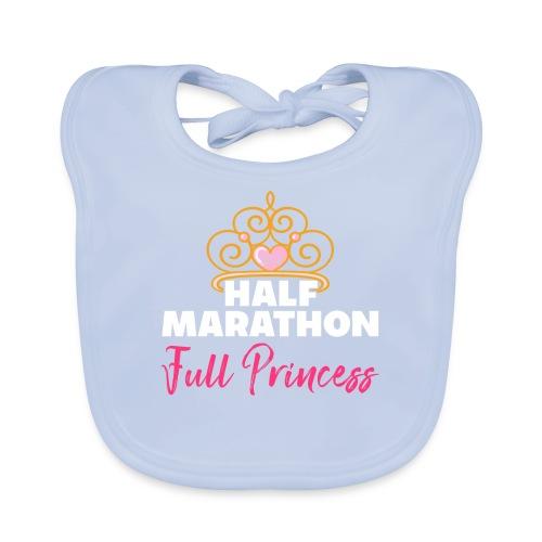 HALF MARATHON Full Princess - Baby Bio-Lätzchen