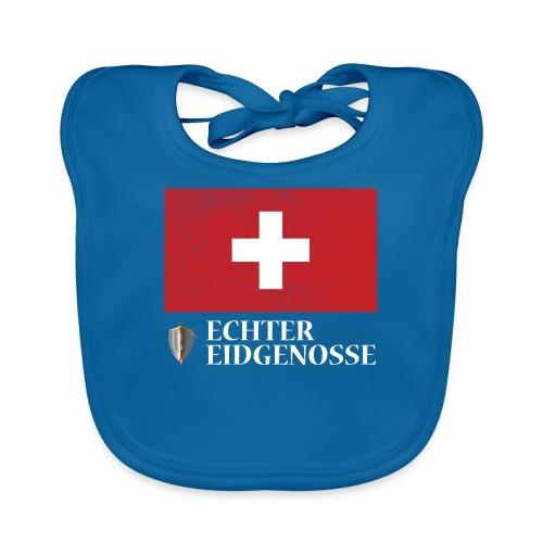 Echter Eidgenosse Schweiz - Baby Bio-Lätzchen