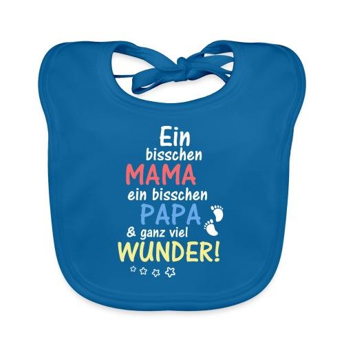Ein bisschen Mama Papa & ganz viel Wunder - Baby Bio-Lätzchen