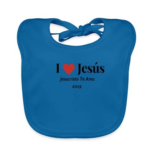 Yo Amo a Jesus Te Ama 2019 - Babero ecológico bebé