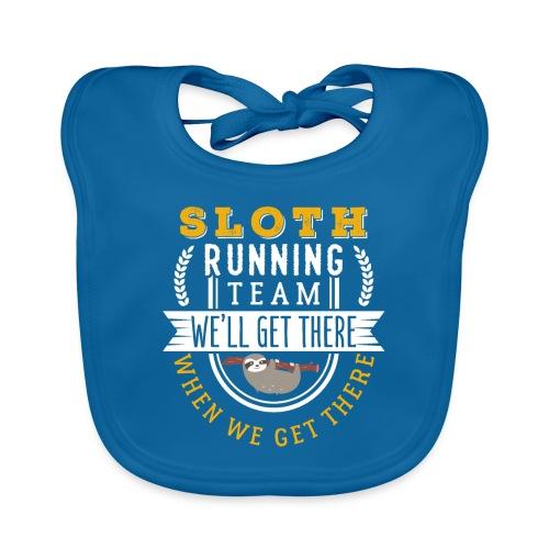 Sloth Running Team - Baby Bio-Lätzchen