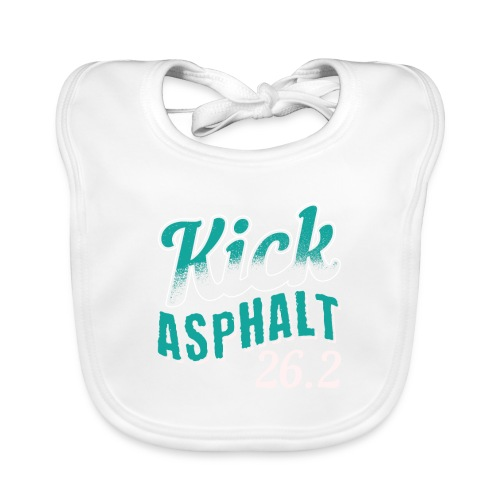 Kick Asphalt 26.2   Full Marathon - Baby Bio-Lätzchen