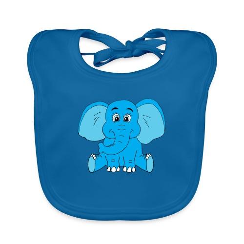 Baby Elefant - Baby Bio-Lätzchen