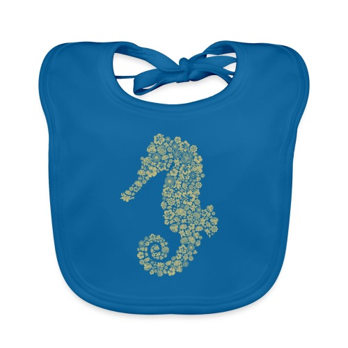 Seepferdchen Spezial - Baby Bio-Lätzchen