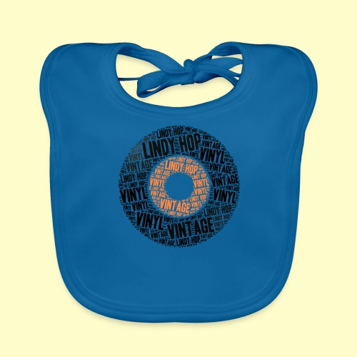 Lindy Hop Dance vintage Tanz T-shirt - Baby Bio-Lätzchen
