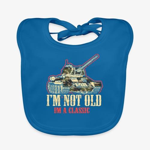 Panzer I Tank I DDR Zone I`m not Old I`m a classic - Baby Bio-Lätzchen