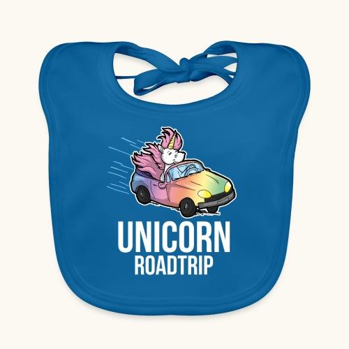 Roadtrip cadeau de voyage voiture licorne drôle - Bavoir bio Bébé