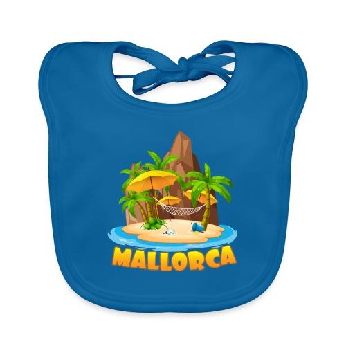Mallorca - schau wie schön die Insel ist! - Baby Bio-Lätzchen