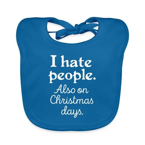 Winter Menschen Weihnachten Spruch Lustig Ugly - Baby Bio-Lätzchen