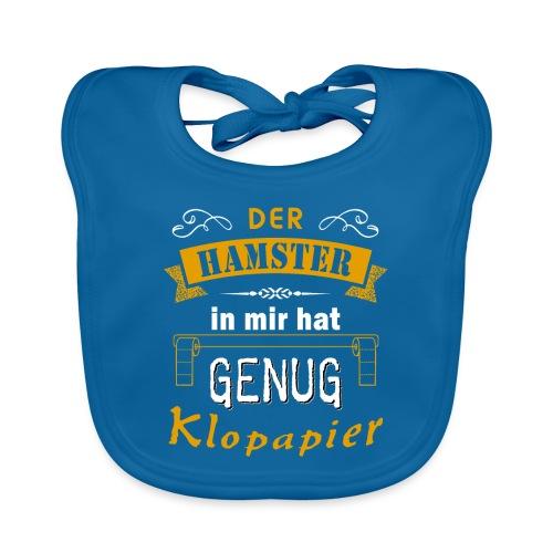 Hamster Hamsterkäufe Klopapier | Humor Sarkasmus - Baby Bio-Lätzchen
