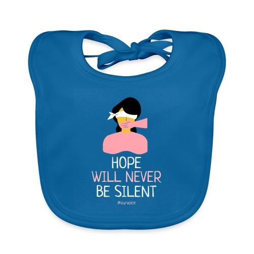 women s rights tshirt design - Babero de algodón orgánico para bebés