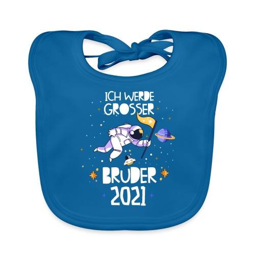 Großer Bruder 2021 Astronauten Astronaut Planeten - Baby Bio-Lätzchen