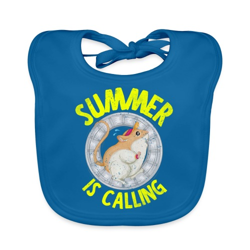 Hamster Laufrad Summer is calling - Baby Bio-Lätzchen