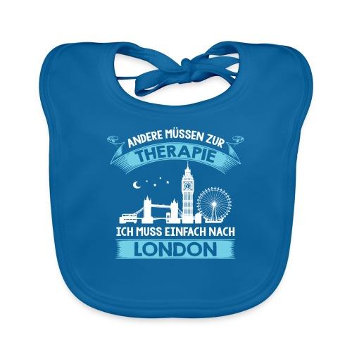 Andere müssen zur Therapie - Ich muss nach London - Baby Bio-Lätzchen