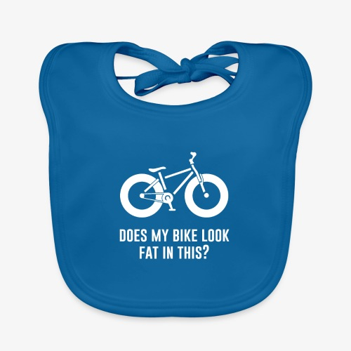 Does my bike look fat in this? - Baby Organic Bib
