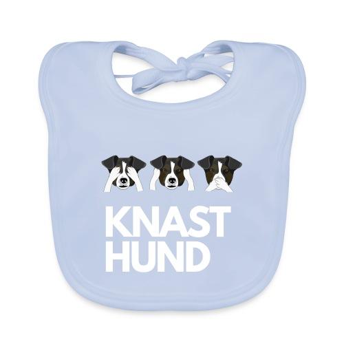 Knast Hund - Jack Russel - Baby Bio-Lätzchen