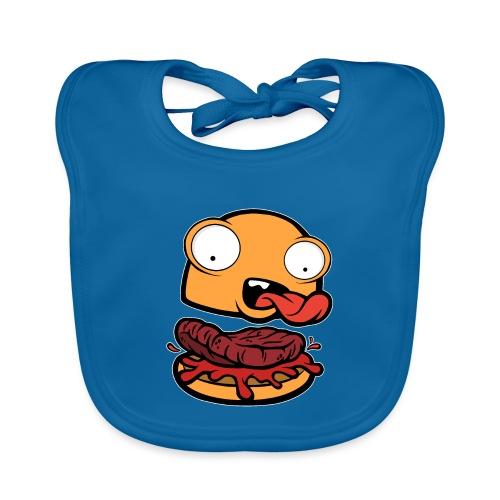 Crazy Burger - Babero ecológico bebé