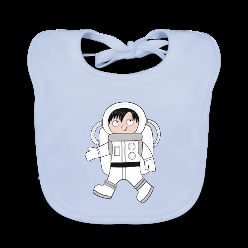 Astronaut - Baby Bio-Lätzchen