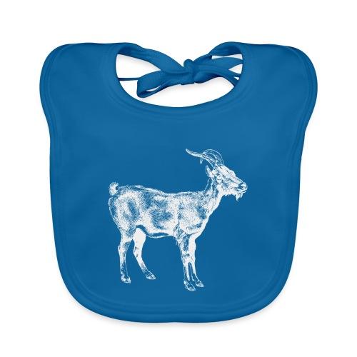 White Goat - Baby Bio-Lätzchen