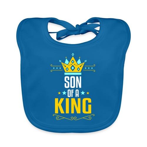 Son of a King Vater und Sohn Partnerlook - Baby Bio-Lätzchen