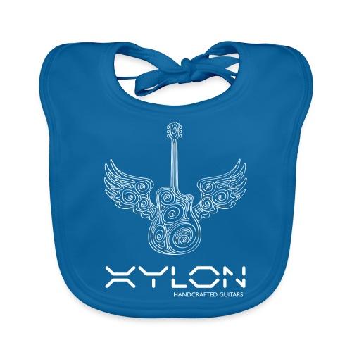Xylon Guitars Premium T-shirt (white design) - Organic Baby Bibs
