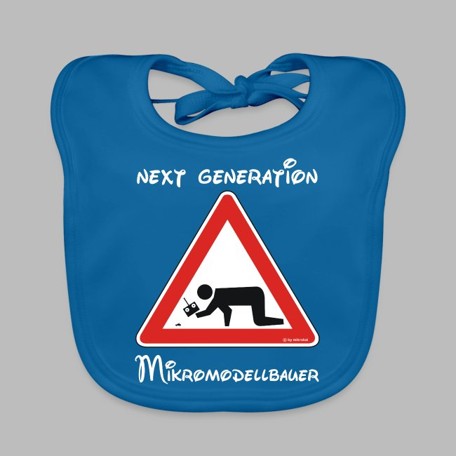 """Warnschild """"Mikromodellbauer"""" Next Generation"""