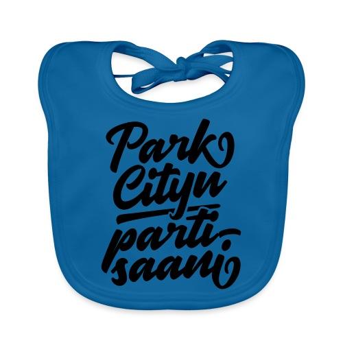 Puistola - Park Cityn partisaani - Vauvan luomuruokalappu