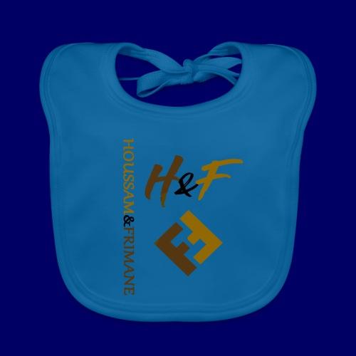 h&F luxury style - Bavaglino ecologico per neonato