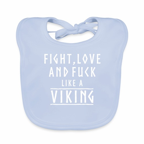 Like a viking - Babero ecológico bebé