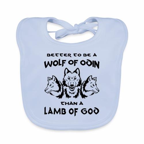 Wolf of Odin - Babero ecológico bebé