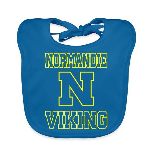 Normandie Viking Def jaune - Bavoir bio Bébé