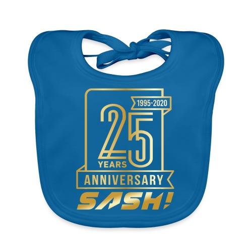 SASH! 25 Years Annyversary - Baby Organic Bib