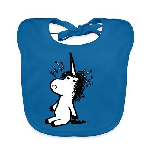 unicornio lloron - Bavaglino ecologico per neonato