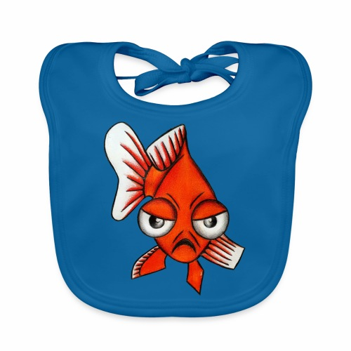 Boze vis - Bio-slabbetje voor baby's