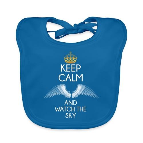 Keep Calm - Ekologiczny śliniaczek