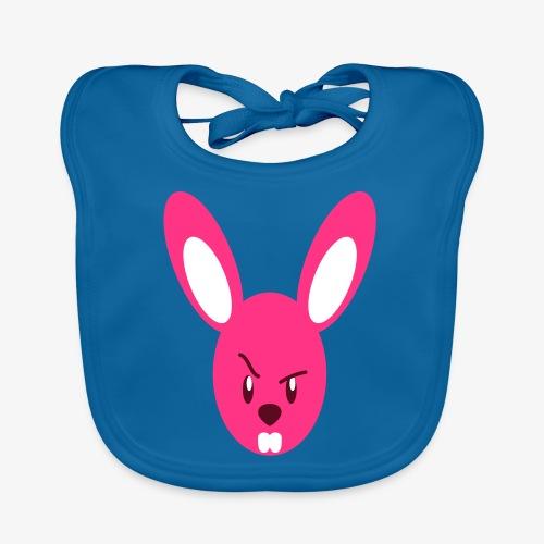 Angry Bunny - Ekologisk babyhaklapp