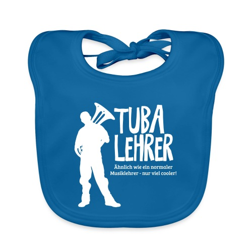 Tuba Lehrer | Tubist - Baby Bio-Lätzchen