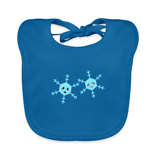 Snowflake kawaii - Baby Bio-Lätzchen