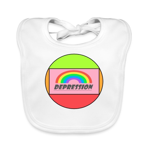 Depressed design - Baby Organic Bib