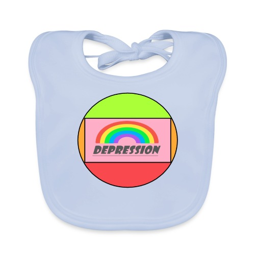 Depressed design - Baby Organic Bib