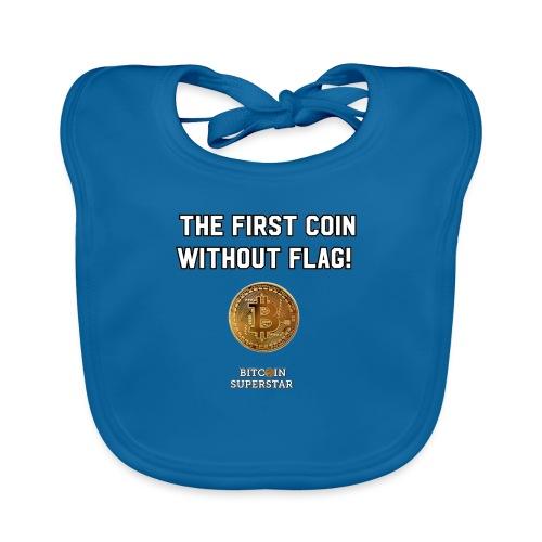 Coin with no flag - Bavaglino ecologico per neonato
