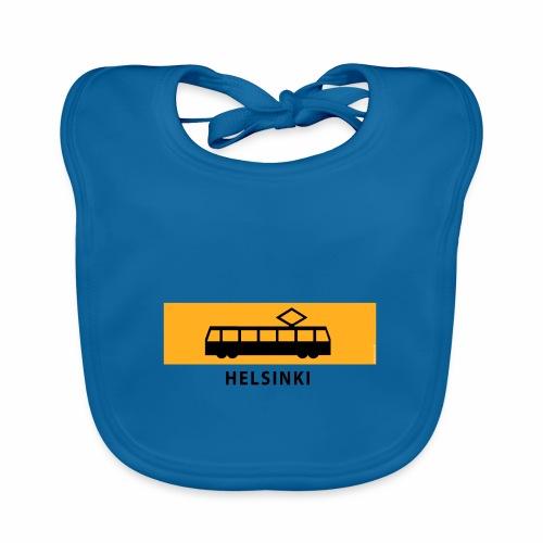 RATIKKA PYSÄKKI HELSINKI T-paidat ja lahjatuotteet - Vauvan luomuruokalappu