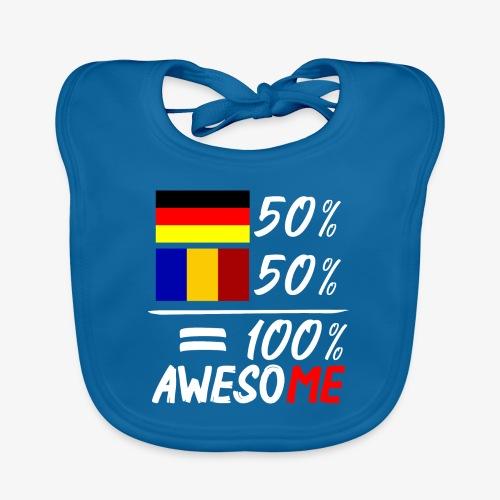 50% Deutsch 50% Rumänisch - Baby Bio-Lätzchen