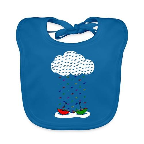 Sweet rain - Babero de algodón orgánico para bebés