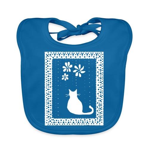 Poetic Kitty Cat by BlackenedMoonArts - Baby økologisk hagesmæk