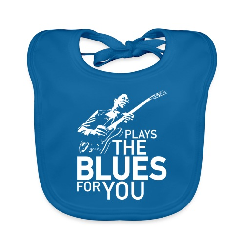 Plays the blues for you - Bio-slabbetje voor baby's