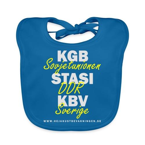 KGB STASI KBV - Ekologisk babyhaklapp