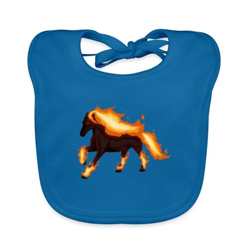 War Horse - Baby Organic Bib