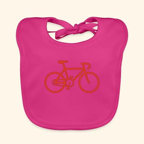 Rennrad, Race-Bike, Fahrrad - Baby Bio-Lätzchen