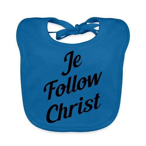 je follow christ - Bavoir bio Bébé